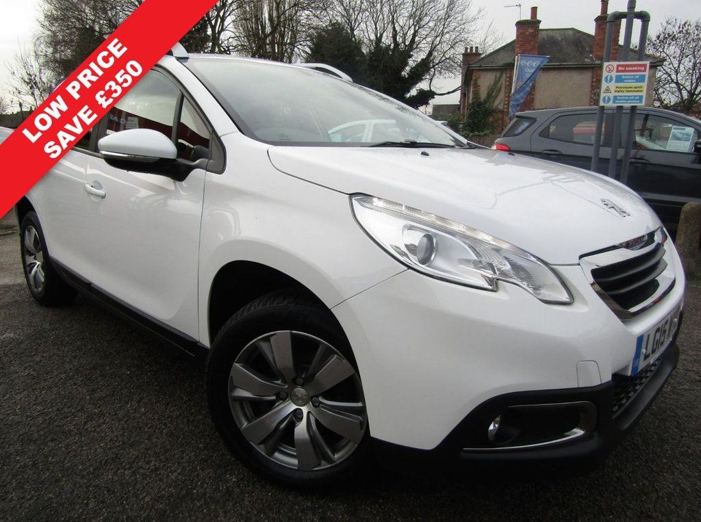 USED 2015 15 PEUGEOT 2008 1.2 ACTIVE 5d 82 BHP Just two owners ** lowest miles ** Service history ** 12 Mths AA breakdown ** free delivery ** Check our feedback ** 14 day money back guarantee** Stylish & versatile **Only £30 to tax ** Parts & labour warranty included **