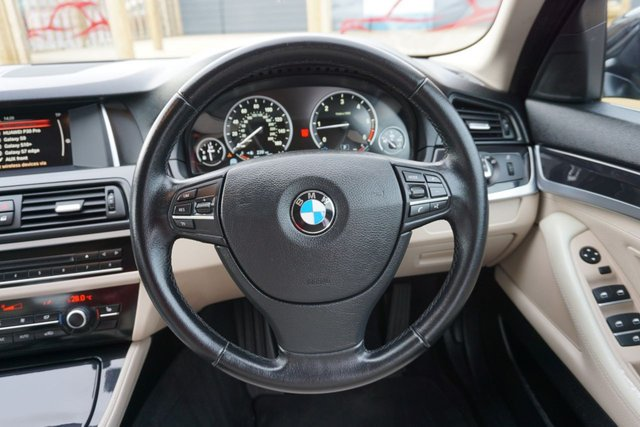USED 2015 65 BMW 5 SERIES 2.0 520D SE 4d 188 BHP GREAT SPEC, GOOD EXAMPLE, SAT NAV