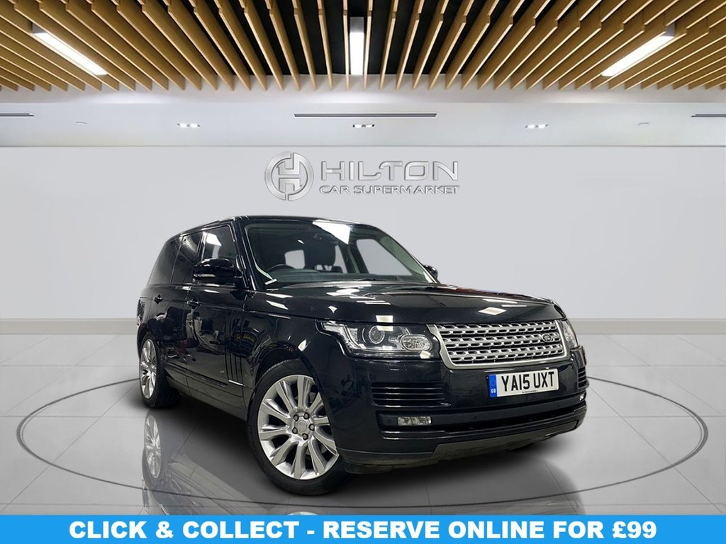 USED 2015 15 LAND ROVER RANGE ROVER 3.0 TDV6 VOGUE 5d 255 BHP Navigation System, Parking Sensors(s), Privacy Glass, Leather Seats, Climate Control