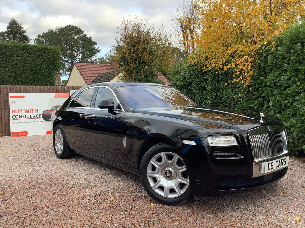 USED 2014 ROLLS ROYCE GHOST 6.6 V12 4d 564 BHP