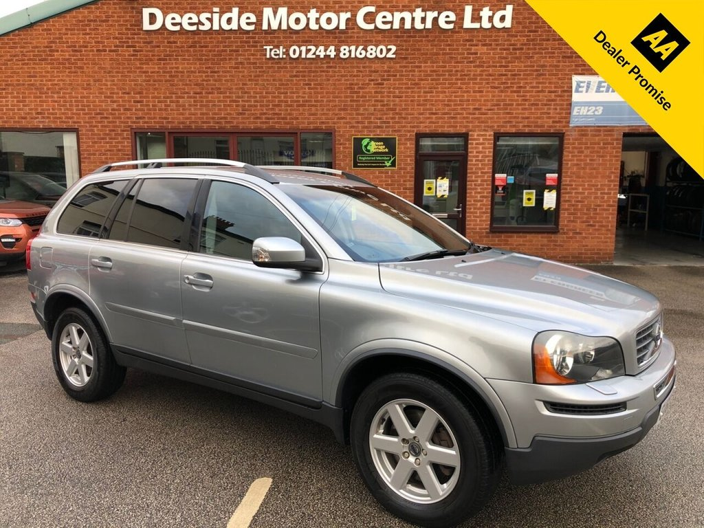 USED 2010 60 VOLVO XC90 2.4 D5 ACTIVE AWD 5d 185 BHP Family 7-Seater : New timing belt just fitted  :  Part leather upholstery  :  Heated front seats  :  Isofix fittings  :  Air-conditioning/Climate control  :  Rear parking sensors  :  Cargo/Load cover