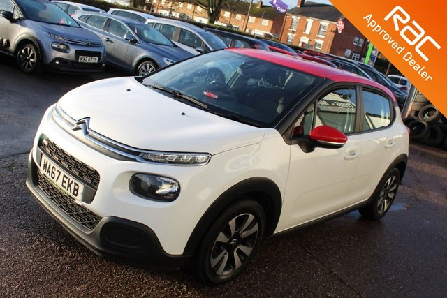 USED 2017 67 CITROEN C3 1.2 PURETECH FEEL 5d 68 BHP VIEW AND RESERVE ONLINE OR CALL 01527-853940 FOR MORE INFO.