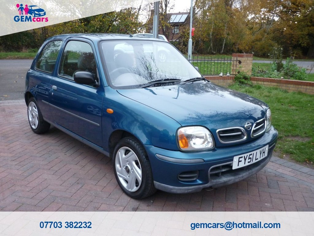 USED 2001 51 NISSAN MICRA 1.0 VIBE S 16V 3d 59 BHP HOME DELIVERY AVAILABLE