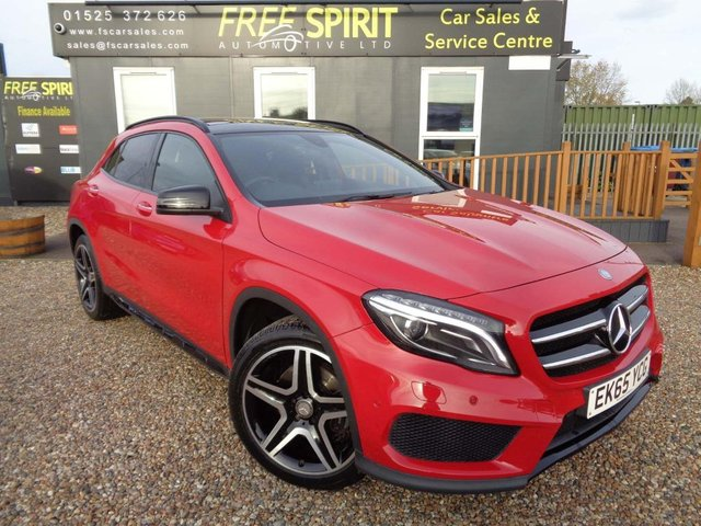 USED 2015 65 MERCEDES-BENZ GLA-CLASS 2.1 GLA200 AMG Line (Premium Plus) 4MATIC (s/s) 5dr Pan Roof, Rear Cam, Navigation