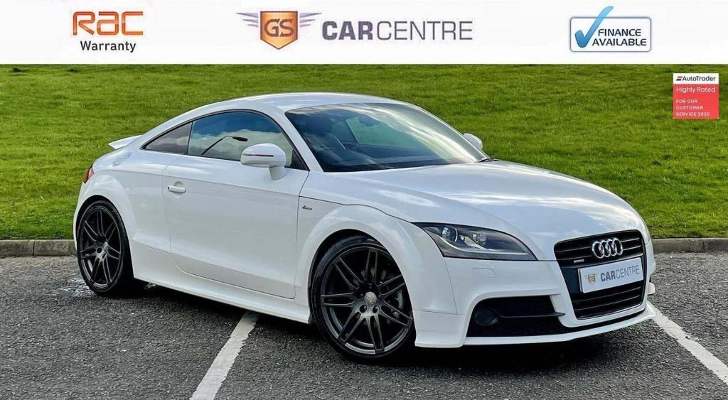 USED 2012 62 AUDI TT 2.0 TD Black Edition S Tronic 2dr BOSE | Half Leather | Auto