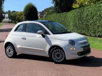 USED 2016 66 FIAT 500 1.2 8V Lounge (s/s) 3dr IPOD CONNECTIVITY/LOW MILE/FSH