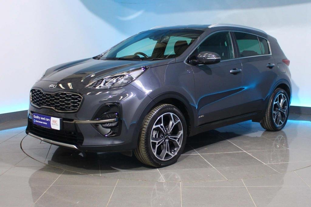 USED 2019 69 KIA SPORTAGE 1.6 CRDi EcoDynamics+ GT-Line DCT AWD (s/s) 5dr HEATED SEATS- REAR CAMERA- NAV