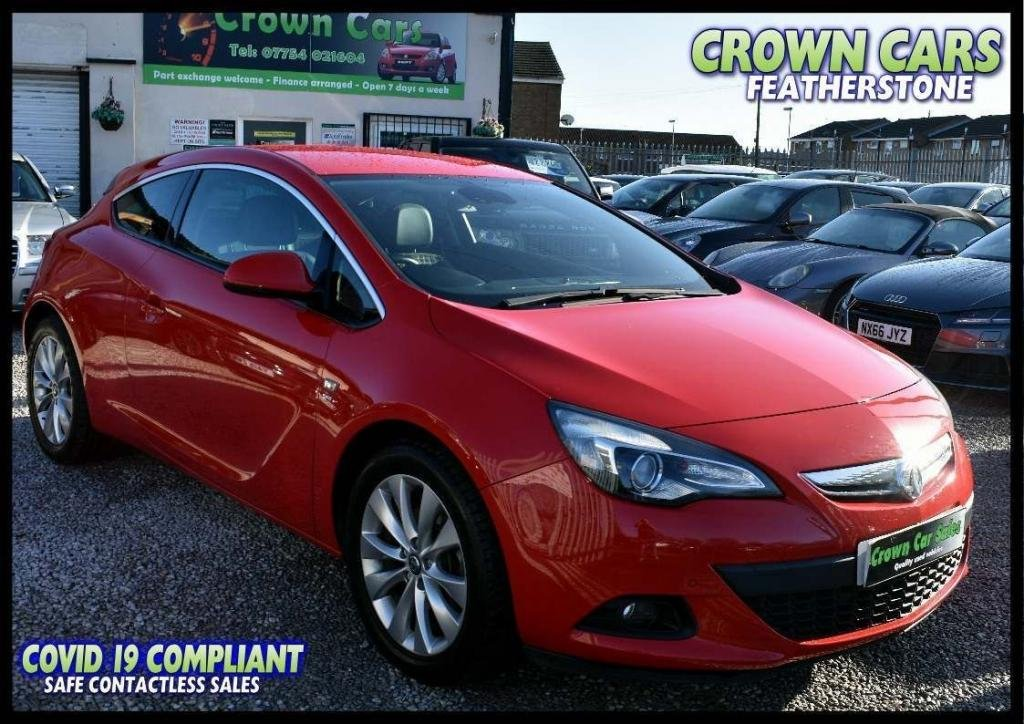 USED 2013 13 VAUXHALL ASTRA 1.4T SRi (s/s) 3dr FREE FINANCE ELIGIBILITY CHECK