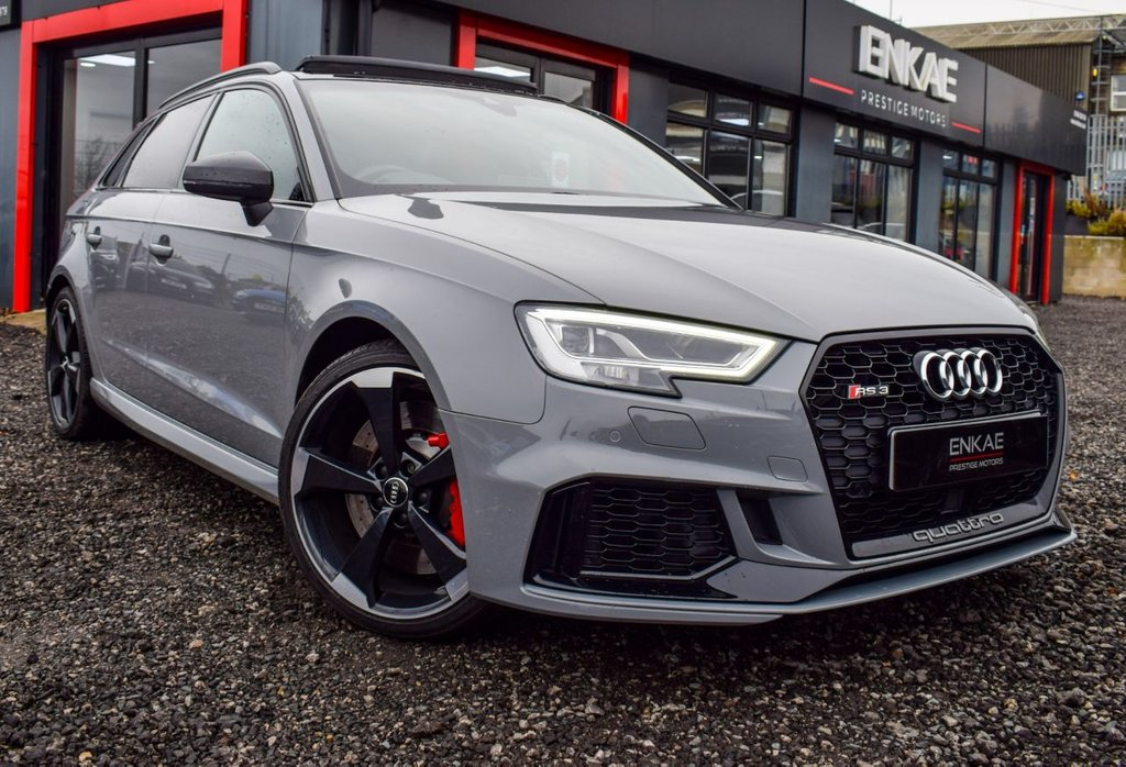 USED 2017 67 AUDI RS3 2.5 RS 3 QUATTRO 5d 395 BHP PAN ROOF MAG RIDE S/S SEATS