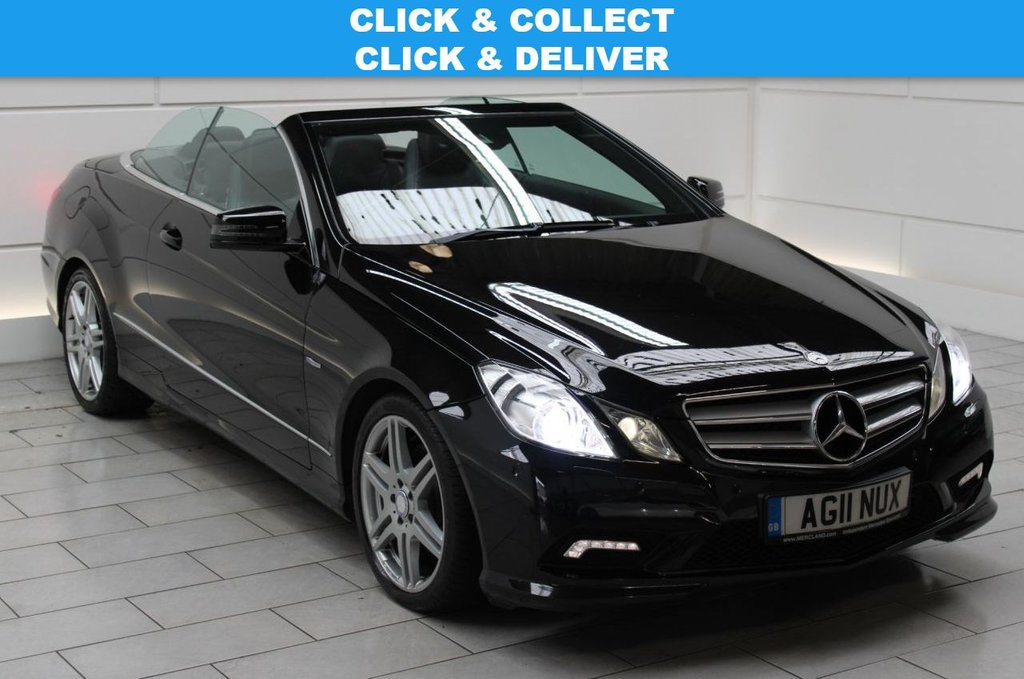 USED 2011 11 MERCEDES-BENZ E-CLASS 3.0 E350 CDI BlueEFFICIENCY Sport Edition 125 Cabriolet 7G-Tronic Plus (start/stop)