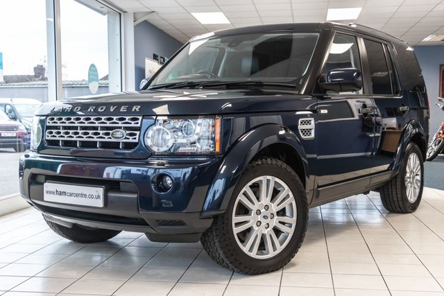 2012 12 LAND ROVER DISCOVERY 4 3.0 4 SDV6 XS 5d 255 BHP