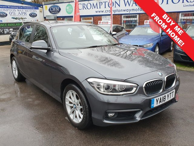 2018 18 BMW 1 SERIES 1.5 116D SE BUSINESS 5d 114 BHP