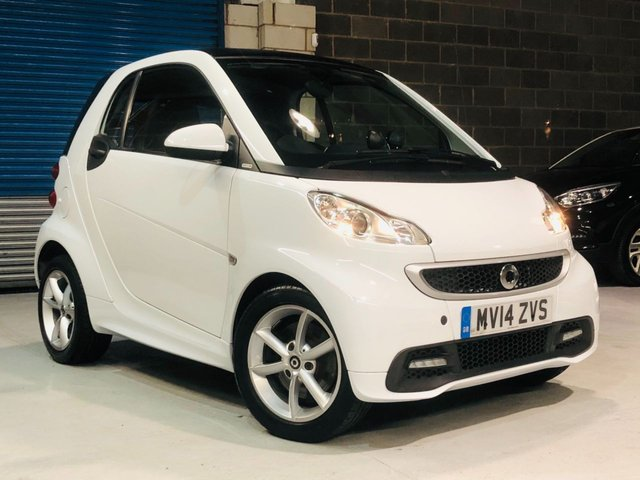 2014 14 SMART FORTWO 1.0 EDITION 21 MHD 2d 71 BHP
