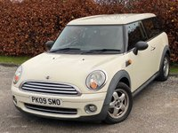 USED 2009 09 MINI CLUBMAN 1.4 ONE 5d 94 BHP * LOW MILEAGE CAR * 12 MOMTHS FREE AA MEMBERSHIP *