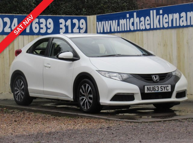 USED 2014 63 HONDA CIVIC 1.6 I-DTEC SE-T 5d 118 BHP VERY CLEAN CAR THROUGHOUT