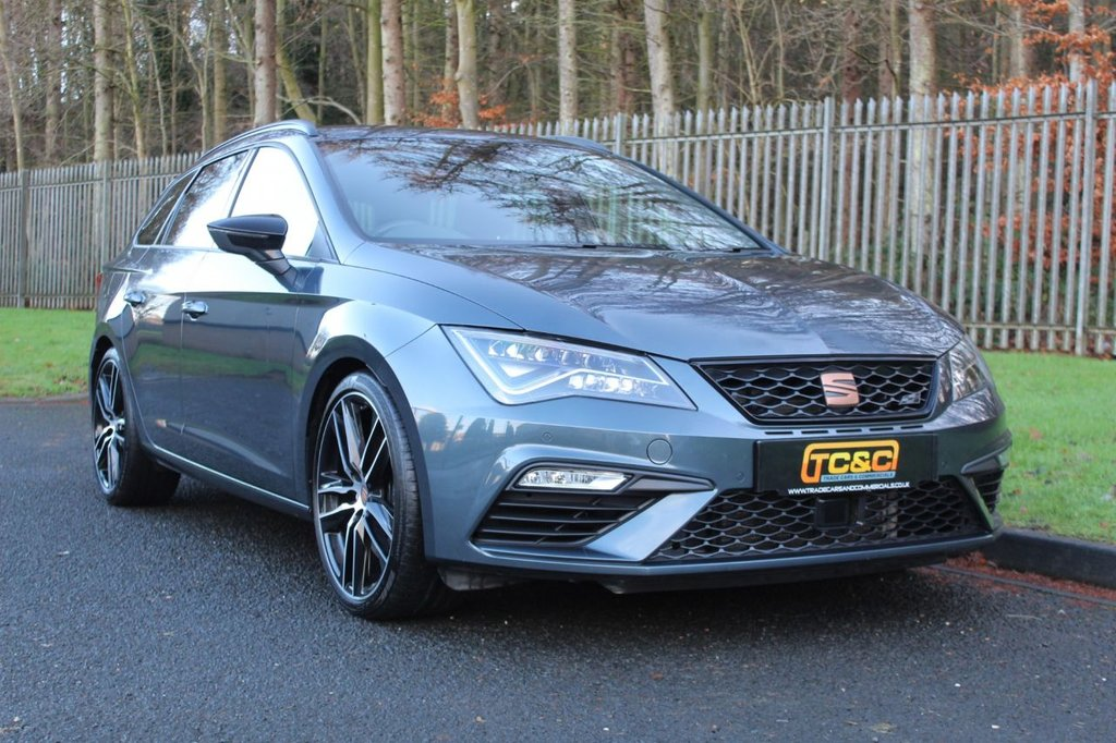 USED 2019 SEAT LEON 2.0 TSI Cupra 300 [EZ] 5dr DSG 4Drive A STUNNING HIGH SPECIFICATION LEON CUPRA WITH MAIN DEALER HISTORY AND MANUFACTURERS WARRANTY!!!