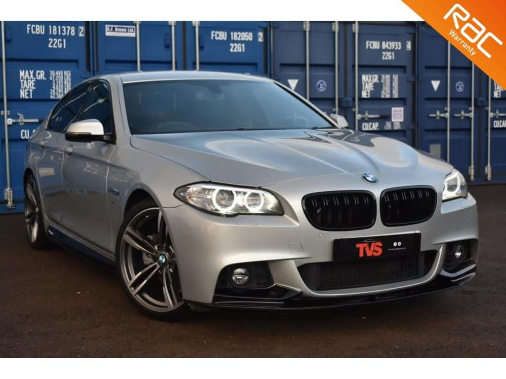 USED 2015 65 BMW 5 SERIES 2.0 520D M SPORT 4d 188 BHP
