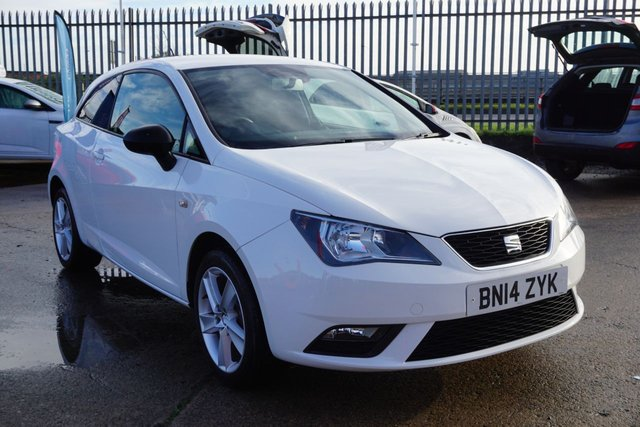 USED 2014 14 SEAT IBIZA 1.4 TOCA 3d 85 BHP GREAT EXAMPLE FIRST CAR