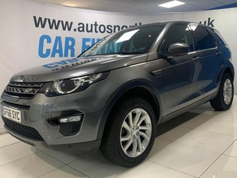 2016 LAND ROVER DISCOVERY SPORT 2.0 TD4 SE TECH 5d 180 BHP £18000.00