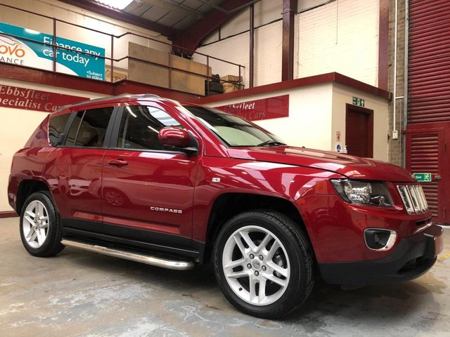 USED 2014 14 JEEP COMPASS 2.2 CRD Limited 4x4 5dr ***49000 MILES F/S/H****