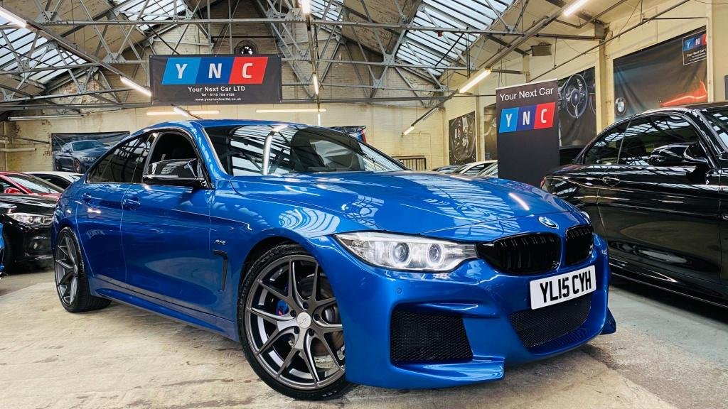 USED 2015 15 BMW 4 SERIES 3.0 435d M Sport Gran Coupe Auto xDrive 5dr AUTOVOGUE AVR 20 INCH ALLOYS!
