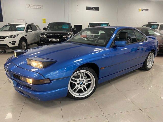 USED 1996 N BMW 8 SERIES 4.4 840CI 2d 282 BHP STUNNING BMW 840CI, LOVELY BALI BLUE COLOUR!
