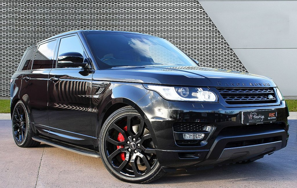 """USED 2015 65 LAND ROVER RANGE ROVER SPORT 3.0 SDV6 HSE DYNAMIC 5d 306 BHP **PAN ROOF/22"""" ALLOYS/STEALTH**"""