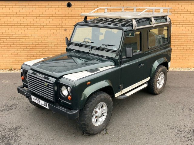 1998 S LAND ROVER DEFENDER 90 COUNTY // TD5 2.5 TDI // Expedition // px swap
