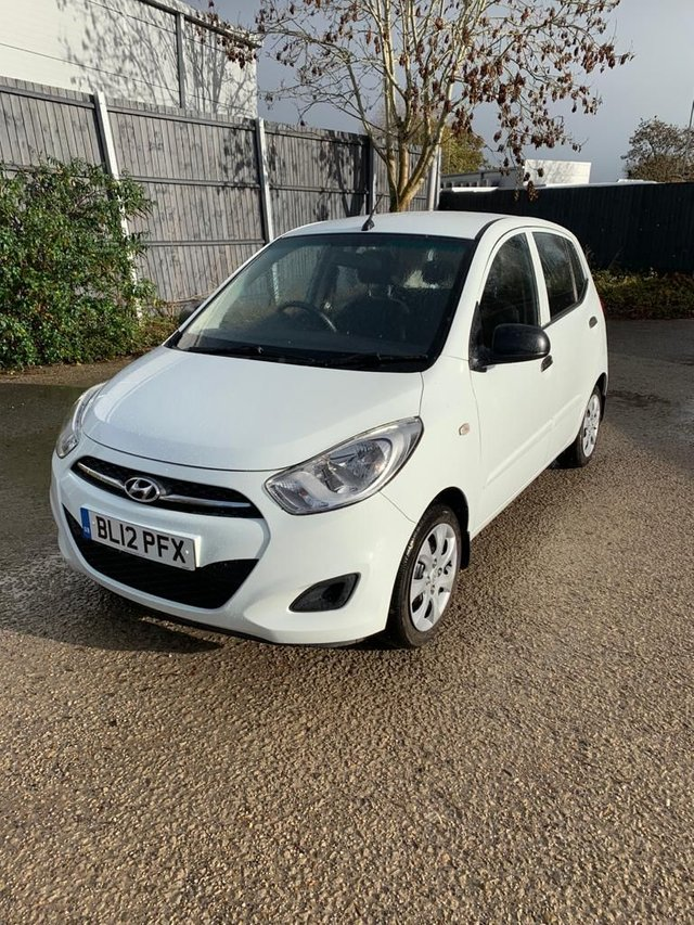 USED 2012 12 HYUNDAI I10 1.2 CLASSIC 5d 85 BHP £20 Tax. Full Dealer Facilities/ PX and Delivery available.