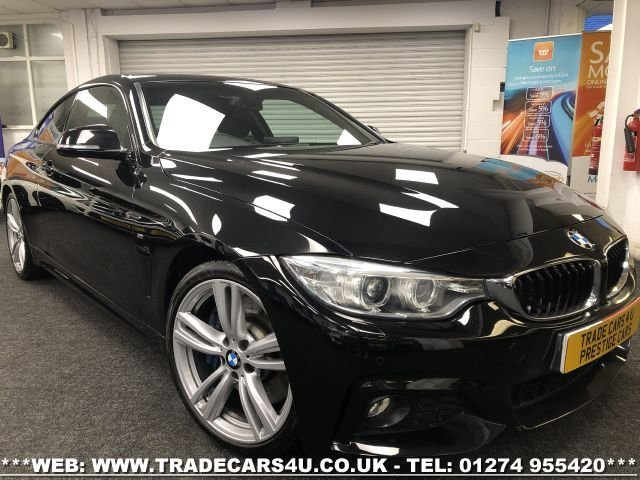 USED 2015 64 BMW 4 SERIES 2.0 428I M SPORT 2d 242 BHP FREE UK DELIVERY*VIDEO AVAILABLE* FINANCE ARRANGED* PART EX*HPI CLEAR