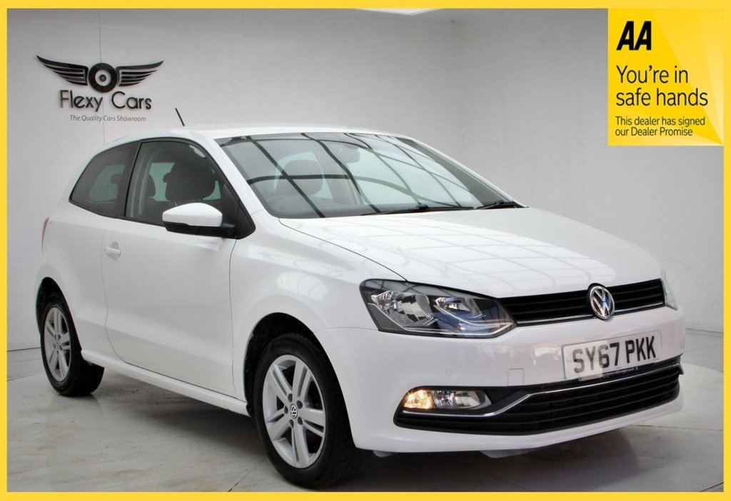 USED 2017 67 VOLKSWAGEN POLO 1.0 MATCH EDITION 3d 74 BHP