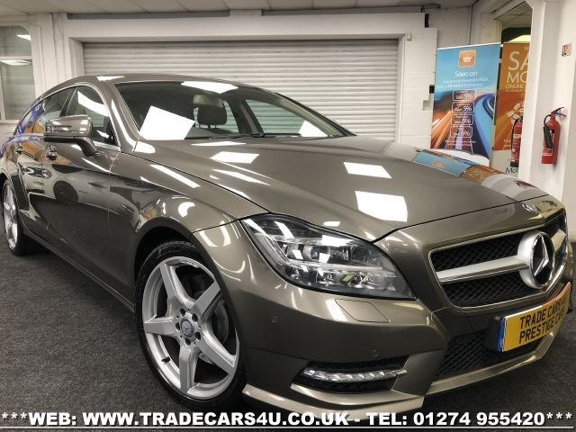 2014 14 MERCEDES-BENZ CLS CLASS 3.0 CLS350 CDI BLUEEFFICIENCY AMG SPORT 5d 262 BHP