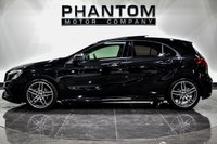 USED 2017 67 MERCEDES-BENZ A-CLASS 1.6 A 200 AMG LINE PREMIUM PLUS 5d 154 BHP