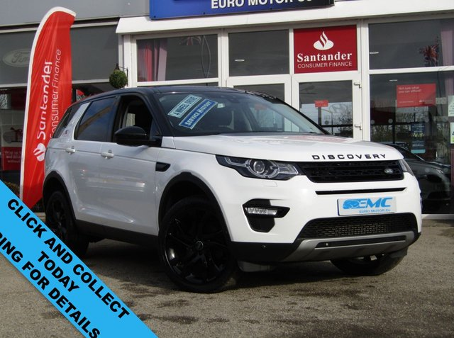 2015 15 LAND ROVER DISCOVERY SPORT 2.2 SD4 HSE LUXURY 5d 190 BHP