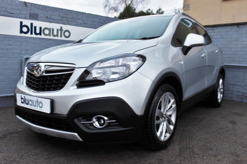 USED 2016 66 VAUXHALL MOKKA 1.4 EXCLUSIV S/S 5d 138 BHP Full Service History, Low Mileage, Parking Sensors, Cruise Control, Dual Climate Control, DAB Radio, Bluetooth Connectivity