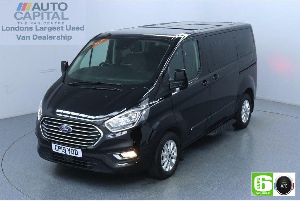 USED 2019 19 FORD TOURNEO CUSTOM 2.0 320 Titanium L1 Auto 130 BHP 8 Seats Minibus Low Emission Automatic | 9 Seats