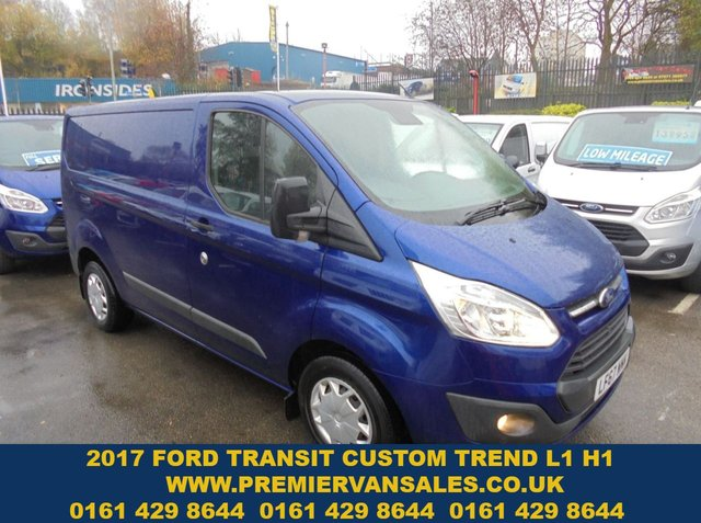 USED 2017 67 FORD TRANSIT CUSTOM 2.0 290 TREND TURBO DIESEL SIX SPEED  2017 YEAR EURO 6 MODEL  STUNNING CLEAN CONDITION  PARKING SENSORS LEATHER MULTIFUNCTION STEERING WHEEL   FULL HISTORY  FORD TRANSIT TREND MODEL EURO 6 MODEL 2017 YEAR