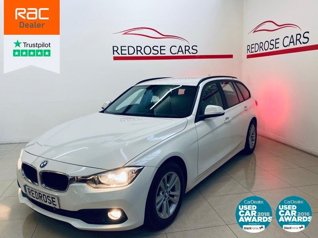 USED 2016 66 BMW 3 SERIES 2.0 320D ED PLUS TOURING 5d 161 BHP FULL BMW SRVC, 1 OWNER