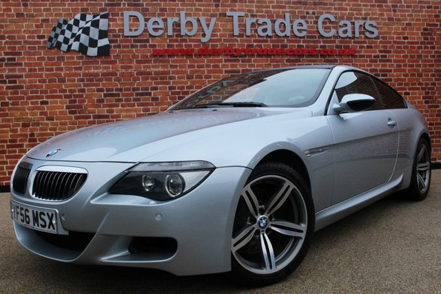 BMW M6 at Derby Trade Cars