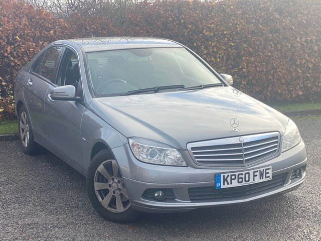 USED 2010 60 MERCEDES-BENZ C CLASS C180 CGI BlueEFFICIENCY SE 4dr RECENTLY SERVICED, MOT UNTIL OCTOBER 2021, BLUETOOTH HANDSFREE, MULTI FUNCTION STEERING WHEEL, AIR CON