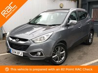 USED 2014 14 HYUNDAI IX35 1.7 SE NAV CRDI 5d 114 BHP ** OPEN FOR CLICK & COLLECT **