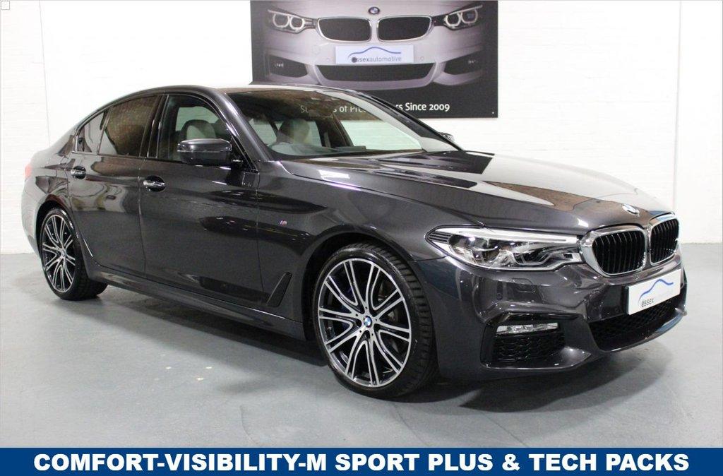 USED 2017 67 BMW 5 SERIES 530d xDrive M Sport 4dr Big Spec