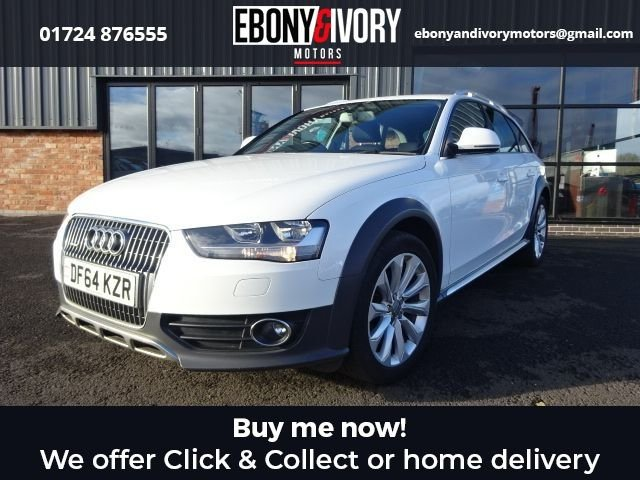 USED 2015 64 AUDI A4 ALLROAD 2.0 ALLROAD TDI QUATTRO S/S 5d 174 BHP EXCELLENT EXAMPLE+FULLY SERVICED+1 YEAR MOT+BREAKDOWN COVER