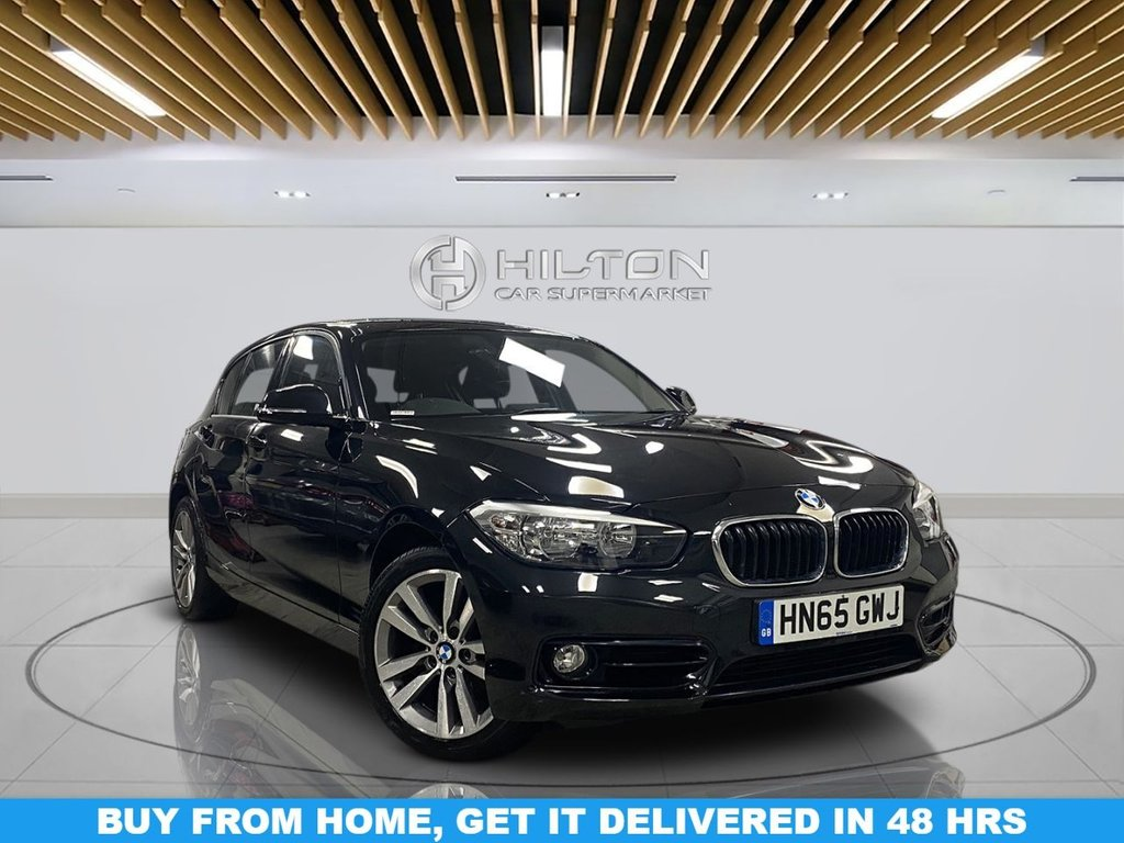 USED 2015 65 BMW 1 SERIES 1.5 118I SPORT 5d 134 BHP Navigation System, Alloy Wheels, Parking Sensor(s), Automatic Transmission, Climate Control