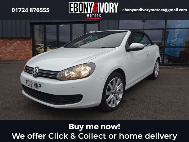 USED 2012 12 VOLKSWAGEN GOLF 1.6 S TDI BLUEMOTION TECHNOLOGY 2d 104 BHP EXCELLENT EXAMPLE+FULL SERVICE HISTORY+1 YEAR MOT+BREAKDOWN COVER