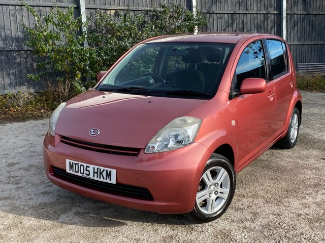 USED 2005 05 DAIHATSU SIRION 1.3 SE 5d 86 BHP AUTOMATIC LOW MILEAGE, AIR CON-UK DELIVERY POSSIBLE