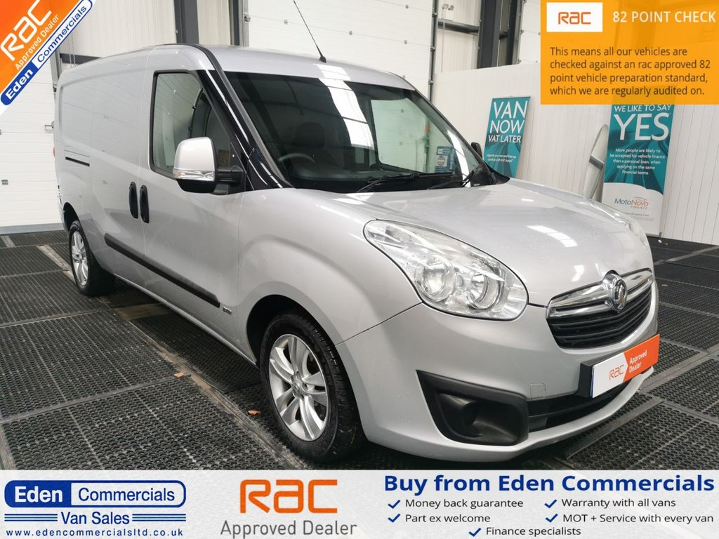 USED 2015 65 VAUXHALL COMBO 1.6 2300 L2H1 CDTI S/S SPORTIVE * AIR CON *