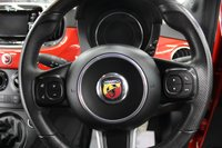 USED 2016 66 ABARTH 500 1.4 595 3d 144 BHP BLUETOOTH, DAB, BLACK PACK, FRESHLY POWDER COATED GLOSS BLACK ALLOYS, ONLY 12,812 MILES