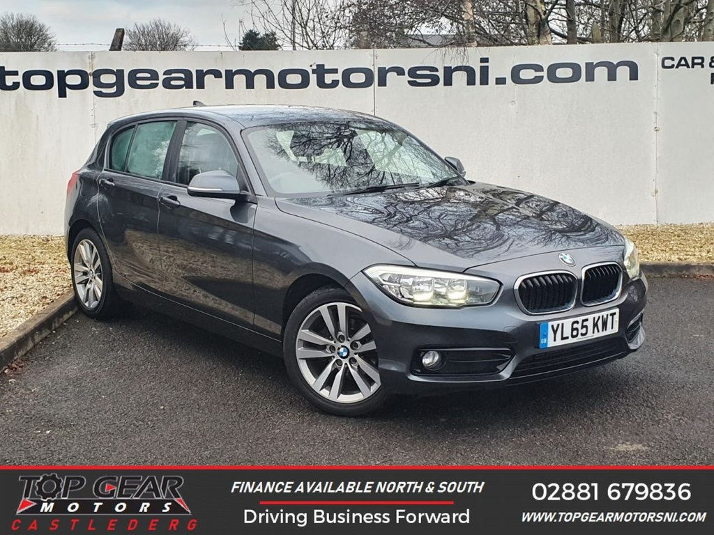 USED 2016 65 BMW 1 SERIES 116D SPORT 1.6 115 BHP **PARKING SENSORS, WARRANTED MILES, FINANCE AVAILABLE** OVER 90 VEHICLES IN STOCK