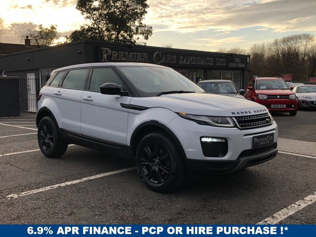 USED 2017 67 LAND ROVER RANGE ROVER EVOQUE 2.0 ED4 SE TECH 5d 148 BHP